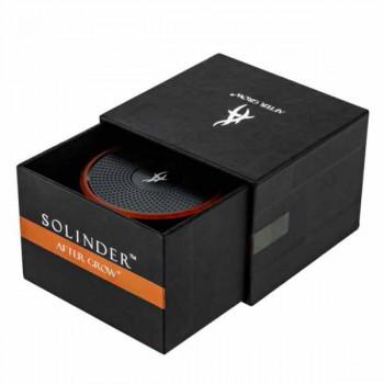 Премиум гриндер AFTER GROW SOLINDER™ ORANGE Ø 62 mm H 48 mm 4 части