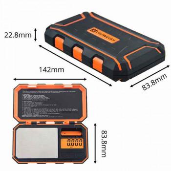 Цифровые весы Uniweigh Orange