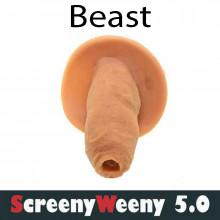 Screeny Weeny Beast 5.0. - синтетическая моча и фальш пенис