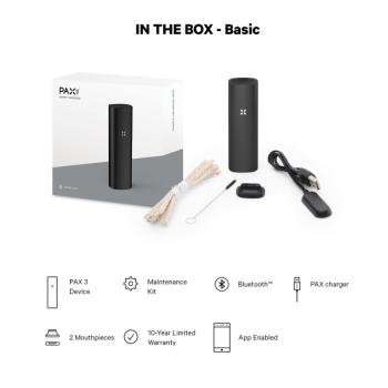 PAX 3 Basic  Kit Black - оригинальный вапорайзер из США