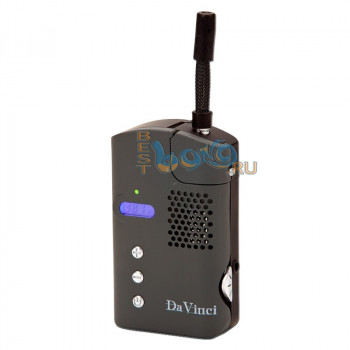 Da Vinci - карманный вапорайзер с цифровым дисплеем